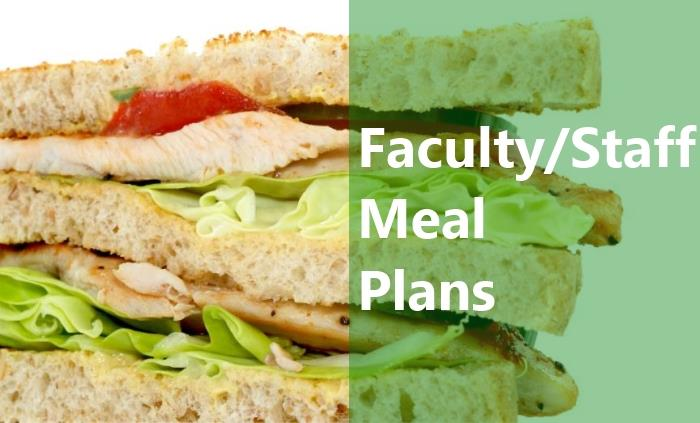 Faculty/Staff Meal Plans