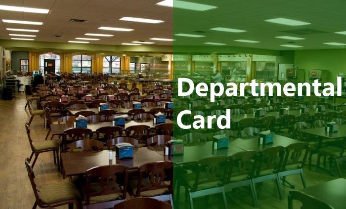 Departmental Card